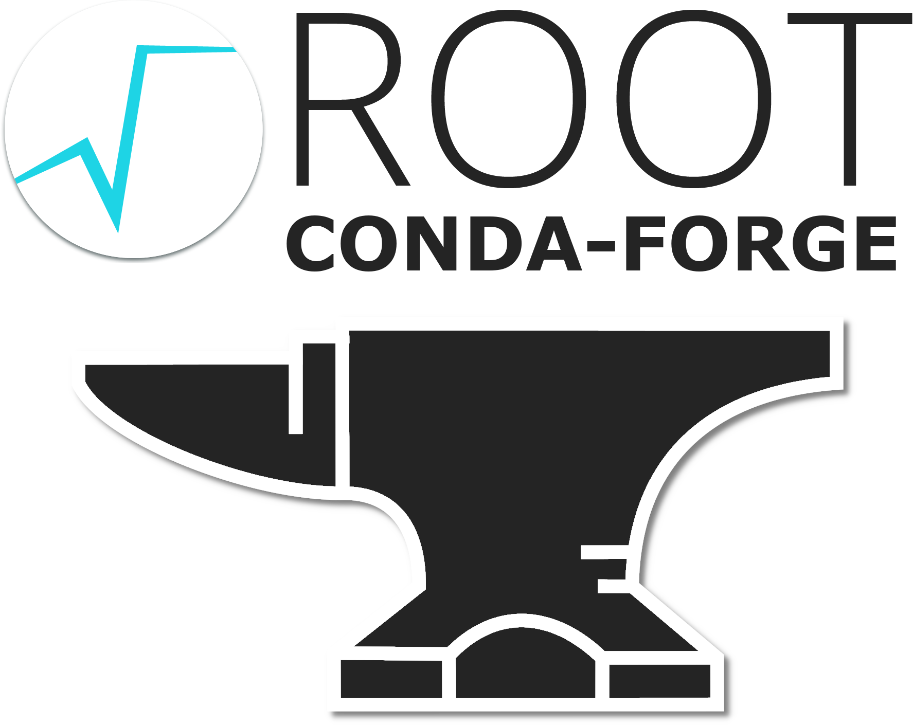 ROOT on Conda-Forge logo